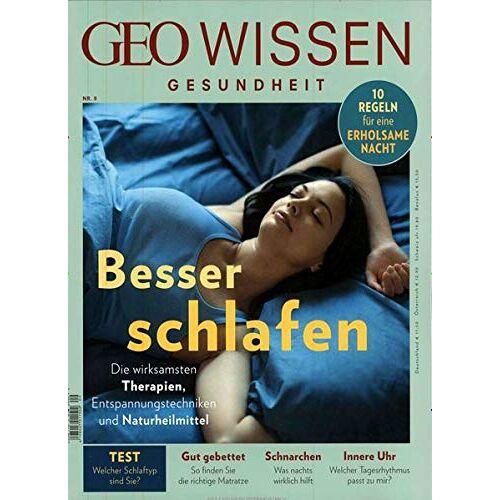 Michael Schaper - GEO Wissen Gesundheit / GEO Wissen Gesundheit 9/18 - Besser schlafen - Preis vom 12.05.2021 04:50:50 h