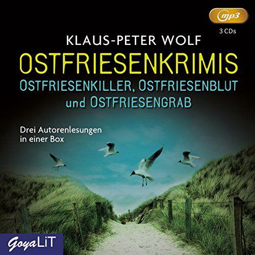 Klaus-Peter Wolf - Ostfriesenkrimis: Ostfriedenkiller, Ostfriesenblut & Ostfriesengrab - Preis vom 14.01.2021 05:56:14 h