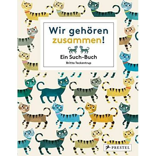 Britta Teckentrup - Wir gehören zusammen!: Ein Such-Buch - Preis vom 03.09.2020 04:54:11 h