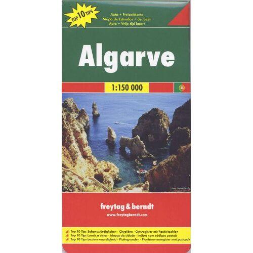 Freytag-Berndt und Artaria KG - Freytag Berndt Autokarten, Algarve, Top 10 Tips - Maßstab 150.000: Road Map (Freytag & Berndt Road Map) - Preis vom 17.04.2021 04:51:59 h