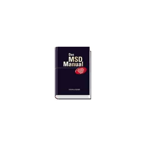 Karl Wiemann - MSD-Manual der Diagnostik und Therapie: mit Griffregister - Preis vom 26.10.2020 05:55:47 h