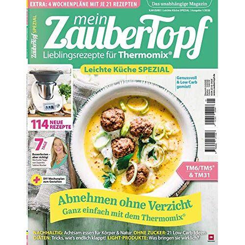 Vivien Koitka - mein ZauberTopf - Leichte Küche SPEZIAL 2020 Genuss & Low Carb gemixt für Thermomix® TM5® TM31 TM6 - Preis vom 05.09.2020 04:49:05 h
