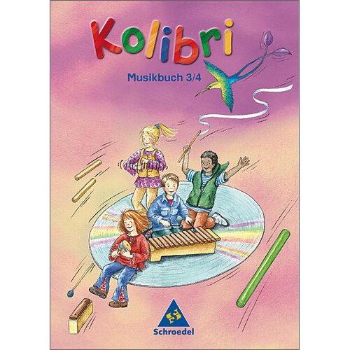 Jennifer Stephens - Kolibri: Musik, die Kinder bewegt - Ausgabe 2003: Musikbuch 3 / 4 (Kolibri - Musikbücher) - Preis vom 25.02.2020 06:03:23 h
