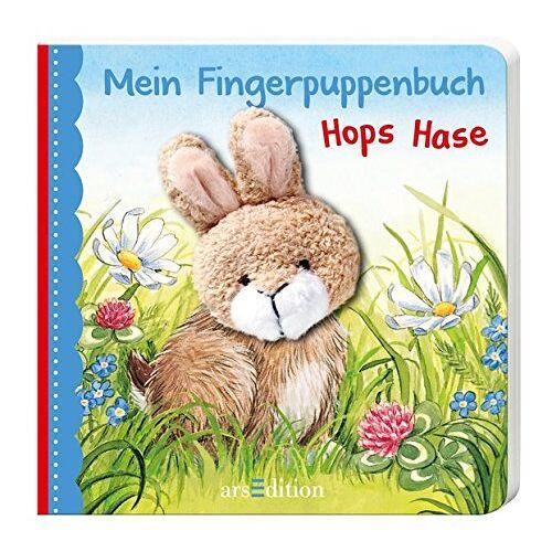 Andrea Gerlich - Mein Fingerpuppenbuch Hops Hase (Fingerpuppenbücher) - Preis vom 25.02.2021 06:08:03 h