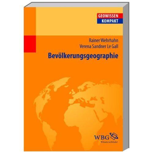 Rainer Wehrhahn - Bevölkerungsgeographie - Preis vom 06.05.2021 04:54:26 h
