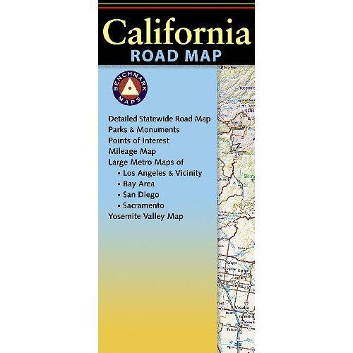 Benchmark Maps - Benchmark California Road Map - Preis vom 25.01.2021 05:57:21 h