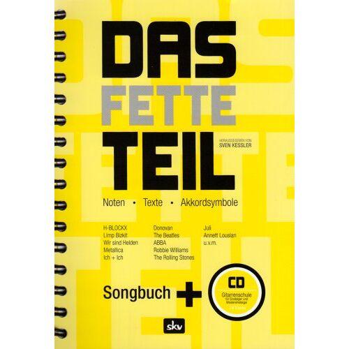 Sven Kessler - Das fette Teil. Gitarreneinsteigerschule mit CD - Preis vom 12.04.2021 04:50:28 h