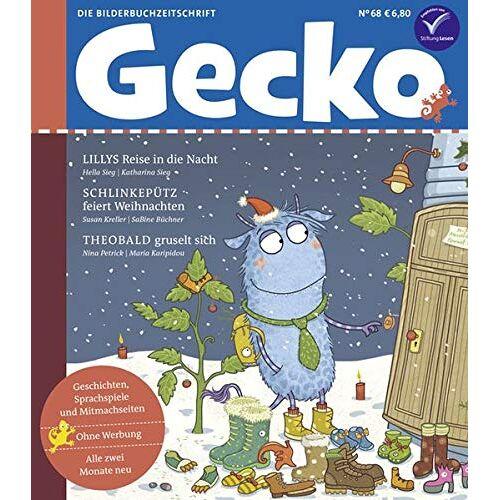 Susan Kreller - Gecko Kinderzeitschrift Band 68: Die Bilderbuchzeitschrift - Preis vom 01.12.2019 05:56:03 h