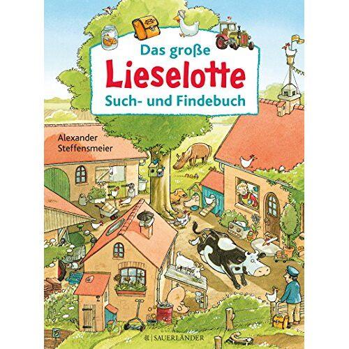 Alexander Steffensmeier - Das große Lieselotte Such- und Findebuch - Preis vom 15.08.2019 05:57:41 h