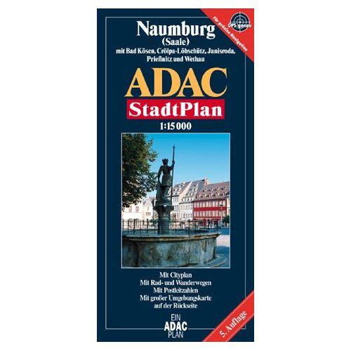 - ADAC Stadtpläne, Naumburg (Saale) mit Bad Kösen, Crölpa-Löbschütz und Janisroda - Preis vom 21.01.2021 06:07:38 h