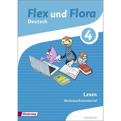 - Flex und Flora: Heft Lesen 4: Verbrauchsmaterial - Preis vom 14.04.2021 04:53:30 h