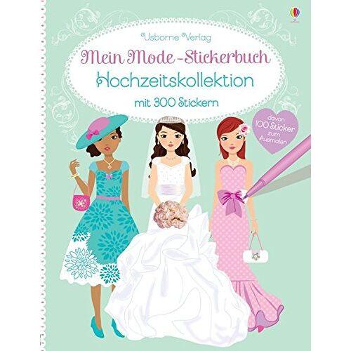 Fiona Watt - Mein Mode-Stickerbuch: Hochzeitskollektion - Preis vom 27.01.2020 06:03:55 h