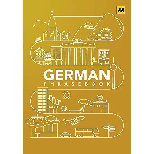 AA Publishing - German Phrasebook (AA Phrasebooks) - Preis vom 01.03.2021 06:00:22 h