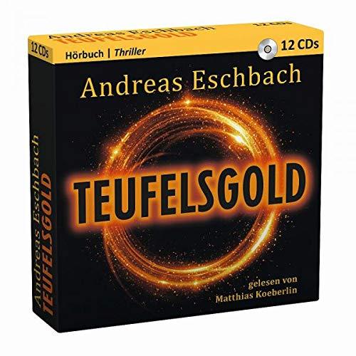 Andreas Eschbach - Teufelsgold - Hörbuch 12 CDs - Preis vom 24.02.2021 06:00:20 h