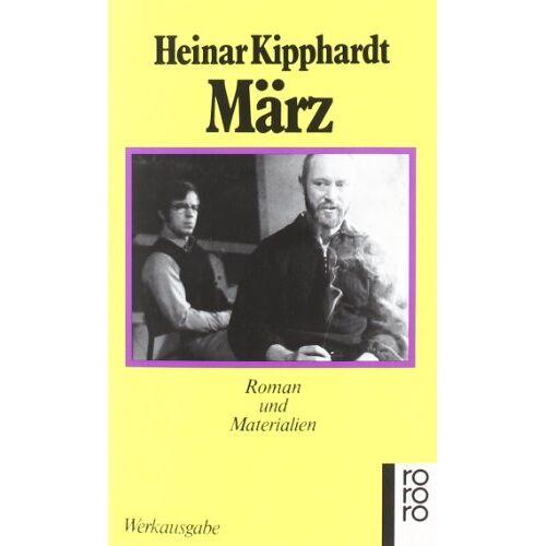 Heinar Kipphardt - März: Roman und Materialien: Roman und Materialien. (Werkausgabe) - Preis vom 11.05.2021 04:49:30 h