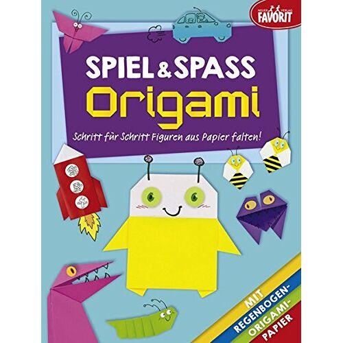 - Spiel & Spaß Origami: Schritt für Schritt Figuren aus Papier falten! - Preis vom 15.04.2021 04:51:42 h