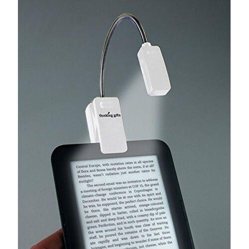 - LED Leselampe mit Klammer für eBook Reader, Weiß - Preis vom 21.01.2020 05:59:58 h