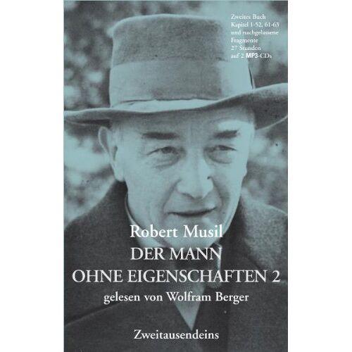 Robert Musil - Der Mann ohne Eigenschaften 2 - Preis vom 15.04.2021 04:51:42 h