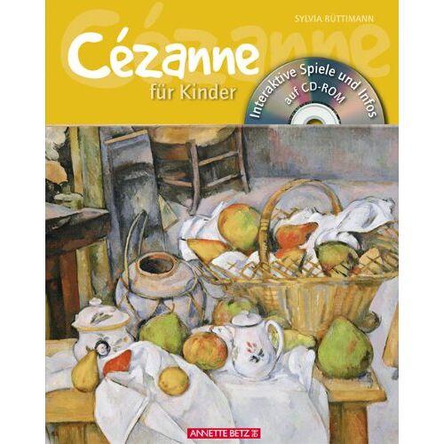 Sylvia Rüttimann - Cézanne für Kinder mit CD-ROM - Preis vom 20.10.2020 04:55:35 h