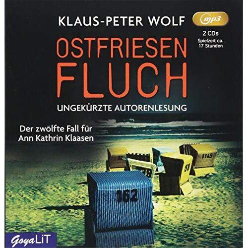 Klaus-Peter Wolf - Ostfriesenfluch: ungekürzte Autorenlesung (Ostfriesenkrimi) - Preis vom 24.02.2021 06:00:20 h