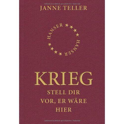 Janne Teller - Krieg: Stell dir vor, er wäre hier - Preis vom 20.10.2020 04:55:35 h