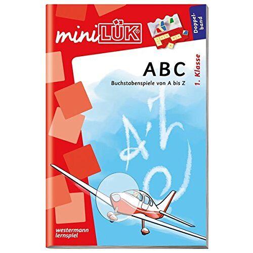 Heinz Vogel - miniLÜK: ABC: Buchstabenspiele von A-Z - Preis vom 10.05.2021 04:48:42 h
