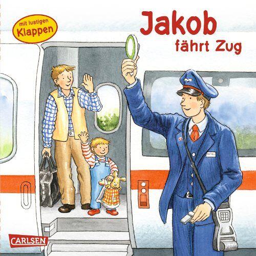 Sandra Grimm - Jakob-Bücher: Jakob fährt Zug - Preis vom 16.04.2021 04:54:32 h