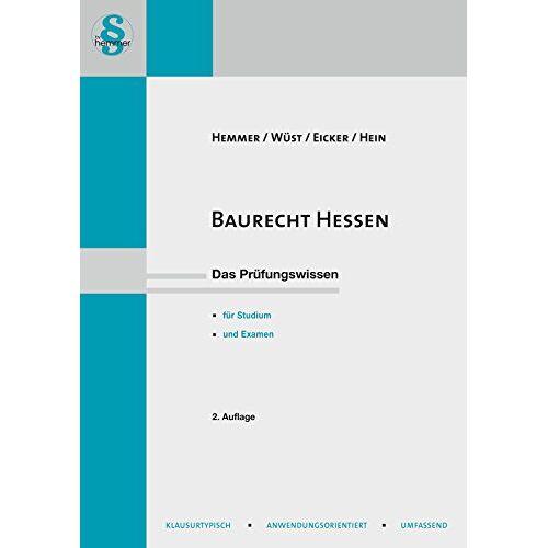 Karl-Edmund Hemmer - Baurecht Hessen - Preis vom 28.02.2021 06:03:40 h