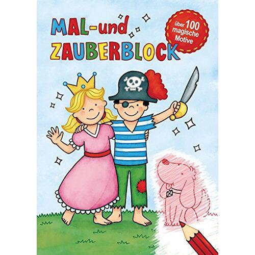 - Mal- und Zauberblock: Malblock mit über 100 magischen Motiven - Preis vom 23.01.2020 06:02:57 h