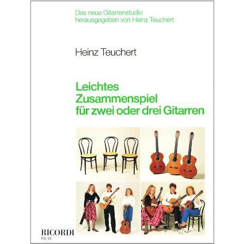 Heinz Teuchert - Leichtes Zusammenspiel für zwei oder drei Gitarren - Preis vom 26.02.2021 06:01:53 h