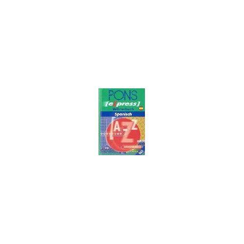 - PONS Express Wörterbuch Spanisch: Spanisch-Deutsch /Deutsch-Spanisch - Preis vom 20.10.2020 04:55:35 h