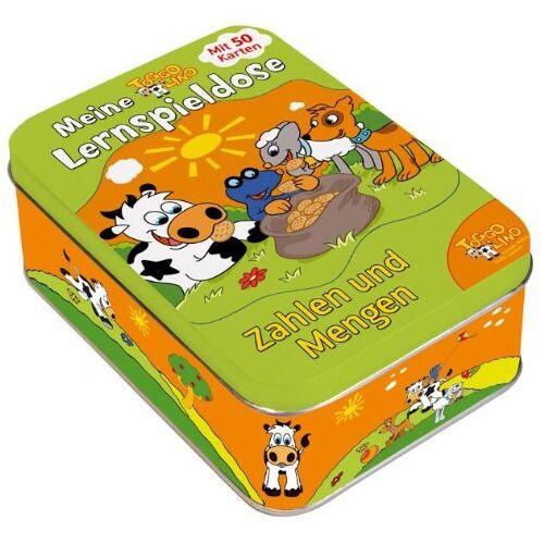 - Toggolino Meine Lernspieldose Zahlen und Mengen: Metallbox mit 50 Lernspiel-Karten - Preis vom 28.05.2020 05:05:42 h