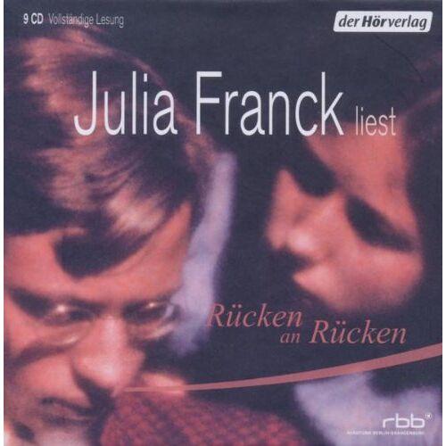 Julia Franck - Rücken an Rücken - Preis vom 05.09.2020 04:49:05 h