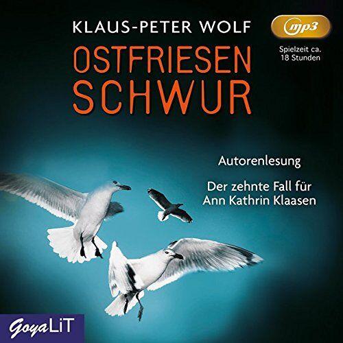 Klaus-Peter Wolf - Ostfriesenschwur: Ungekürzte Lesung (Ostfriesenkrimi) - Preis vom 10.05.2021 04:48:42 h