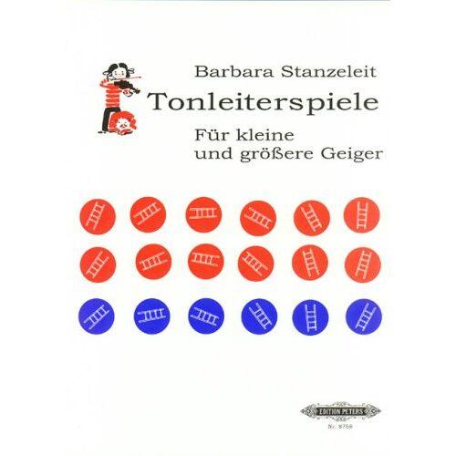 Barbara Stanzeleit - Tonleiterspiele für kleine und größere Geiger: Ein Spiel mit Würfeln zum täglichen Tonleiter-Üben - Preis vom 17.01.2021 06:05:38 h