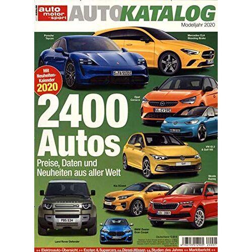auto motor sport Autokatalog - auto motor sport Autokatalog 1/2020 2400 Autos - Preis vom 01.03.2021 06:00:22 h