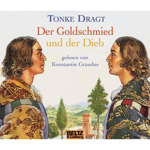 Tonke Dragt - Der Goldschmied und der Dieb - Hörbuch auf 4 CDs - Preis vom 10.09.2020 04:46:56 h