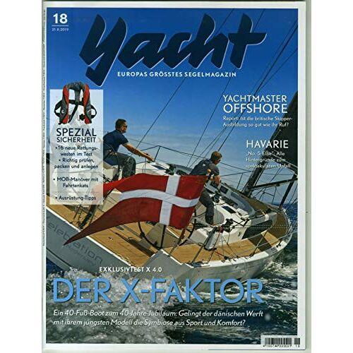 Yacht - Yacht 18/2019 Der X-Factor - Preis vom 07.04.2021 04:49:18 h