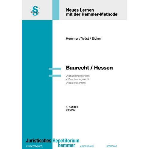 Karl-Edmund Hemmer - Baurecht Hessen - Preis vom 05.09.2020 04:49:05 h
