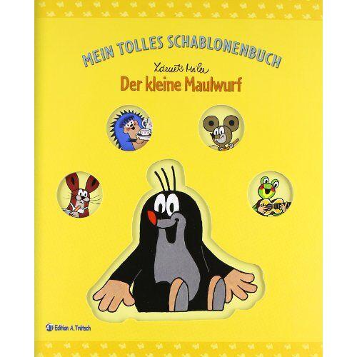 Andreas Trötsch - Schablonenbuch Der kleine Maulwurf - Preis vom 27.02.2021 06:04:24 h
