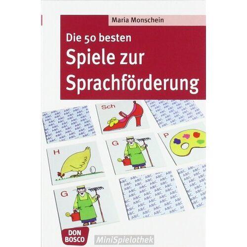 Maria Monschein - Die 50 besten Spiele zur Sprachförderung - Preis vom 03.05.2021 04:57:00 h