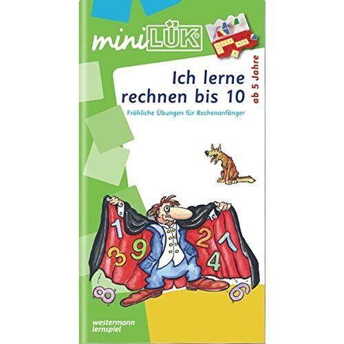 Heinz Vogel - miniLÜK / Schuleingangsphase: miniLÜK: Ich lerne rechnen bis 10: Fröhliche Übungen für Rechenanfänger für Kinder von 5 - 7 Jahren - Preis vom 10.05.2021 04:48:42 h