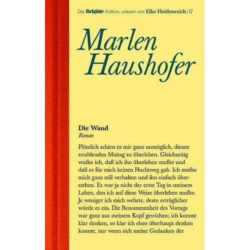 Marlen Haushofer - Die Wand - Preis vom 22.01.2021 05:57:24 h