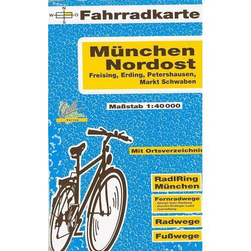 - Fahrradkarte München Nordost, Freising, Erding, Petershausen, Markt Schwaben. 1:40000 - Preis vom 04.09.2020 04:54:27 h