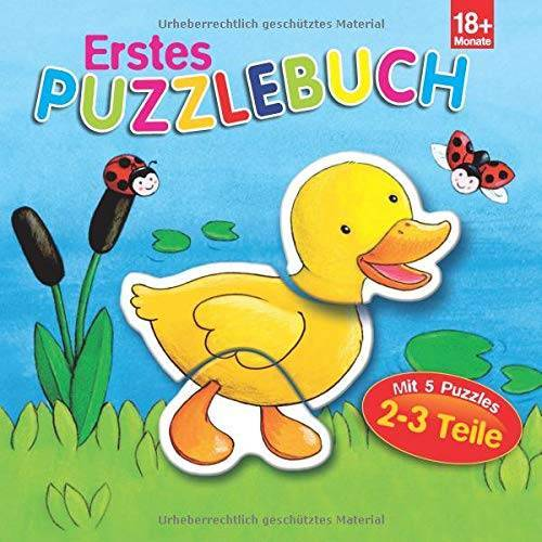 - Erstes Puzzlebuch Ente: 5 Puzzles mit je 2-3 Teilen - Preis vom 07.04.2021 04:49:18 h
