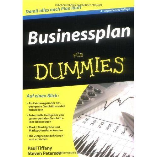 Paul Tiffany - Businessplan für Dummies - Preis vom 10.05.2021 04:48:42 h