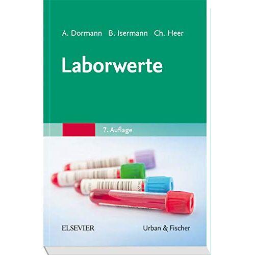 Dormann, Arno J. - Laborwerte - Preis vom 18.04.2021 04:52:10 h