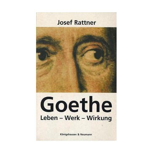Josef Rattner - Goethe - Preis vom 08.03.2021 05:59:36 h