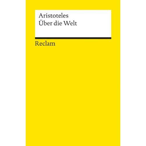 Aristoteles - Über die Welt - Preis vom 21.10.2020 04:49:09 h