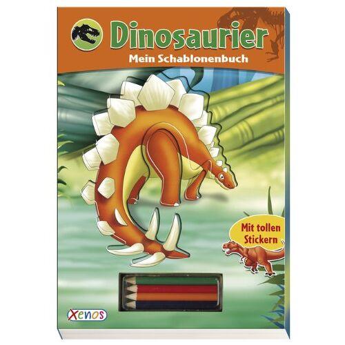 Various - Dinosaurier - Mein Schablonenbuch - Preis vom 06.09.2020 04:54:28 h